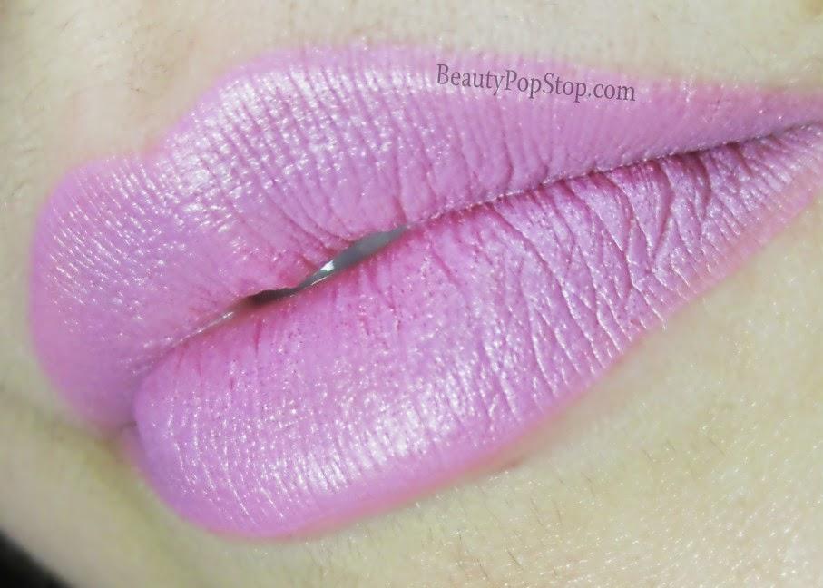 mac kelly osbourne dodgy girl lipstick swatch