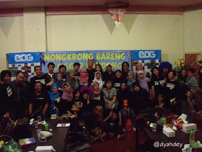Blogger Bandung dan Kaos Gurita