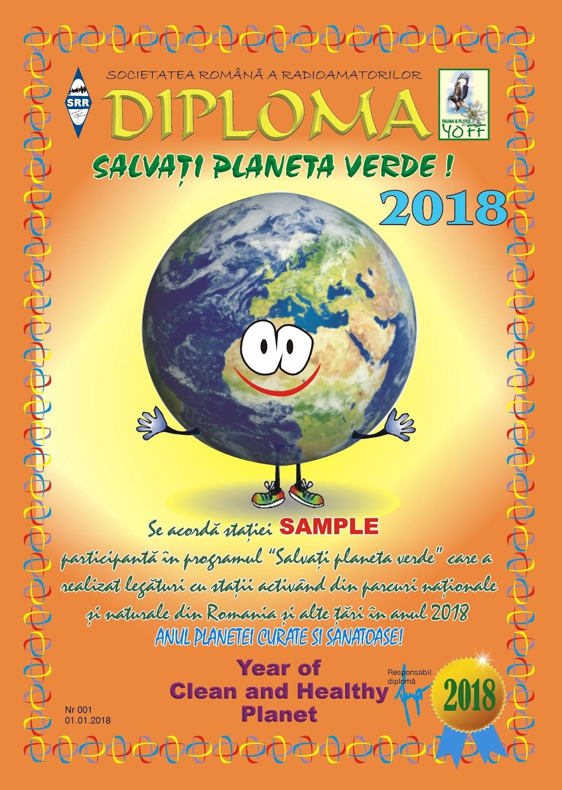 YOFF - FAUNA AND FLORA Romanian Program: Diploma YOFF 200, YOFF 1000 and more info!