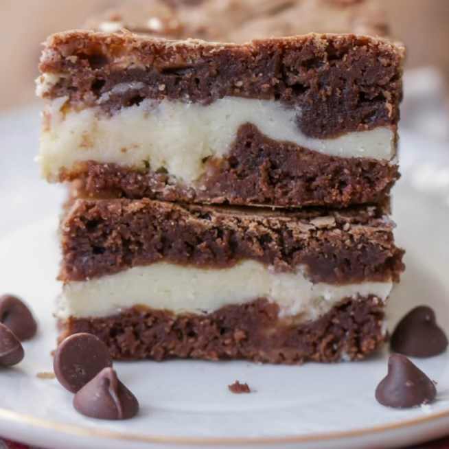 Cheesecake Brownies #cheesecake #desserts
