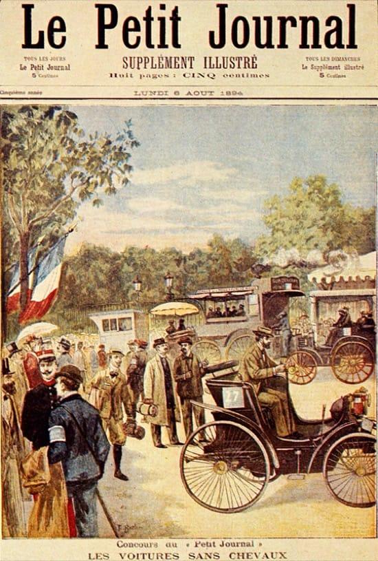 La Paris-Rouen, la primera carrera de coches de la historia