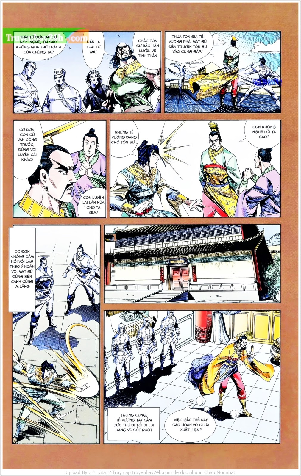 Tần Vương Doanh Chính chapter 26 trang 22