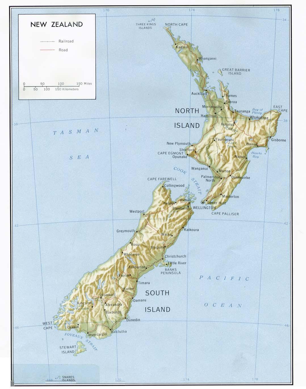 Heograpiya ng New Zealand