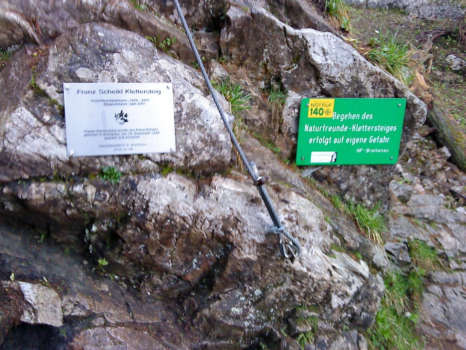 Klettersteig Hochlantsch : Freiluft geckos wandern klettersteig hochlantsch