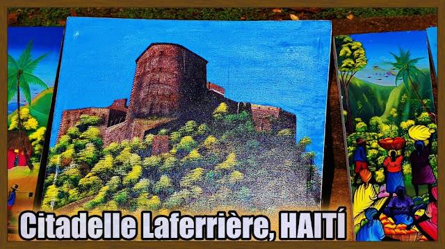 dibujo Citadelle laferrière de Haití