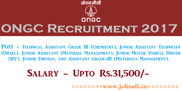 ONGC Careers, ONGC Vacancy, ONGC Jobs