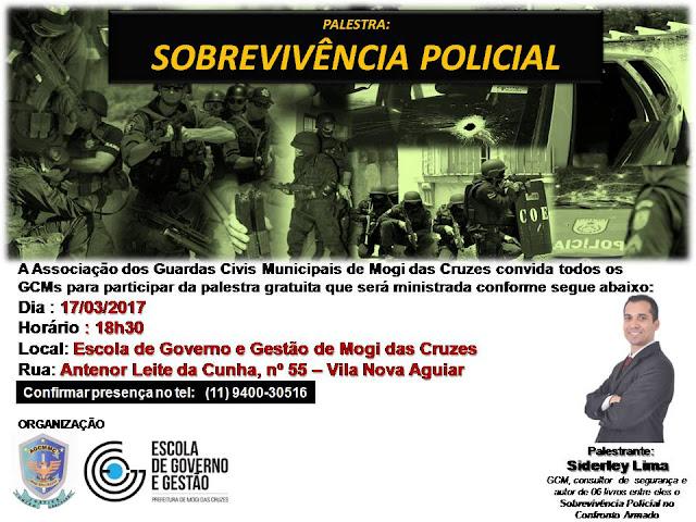Palestra : Sobrevivência Policial