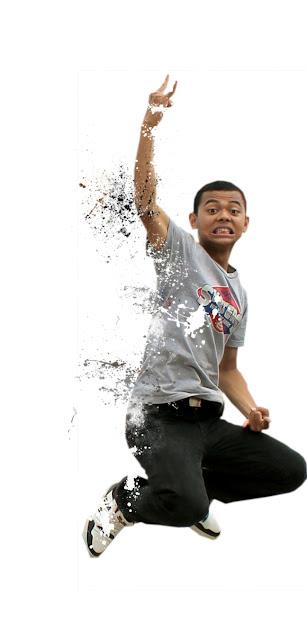 Destorasai8 Membuat Efek Dispersion Dengan Brush Splatter Di Photoshop
