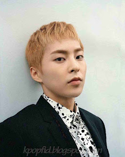 Foto Keren Xiumin EXO berambut pendek