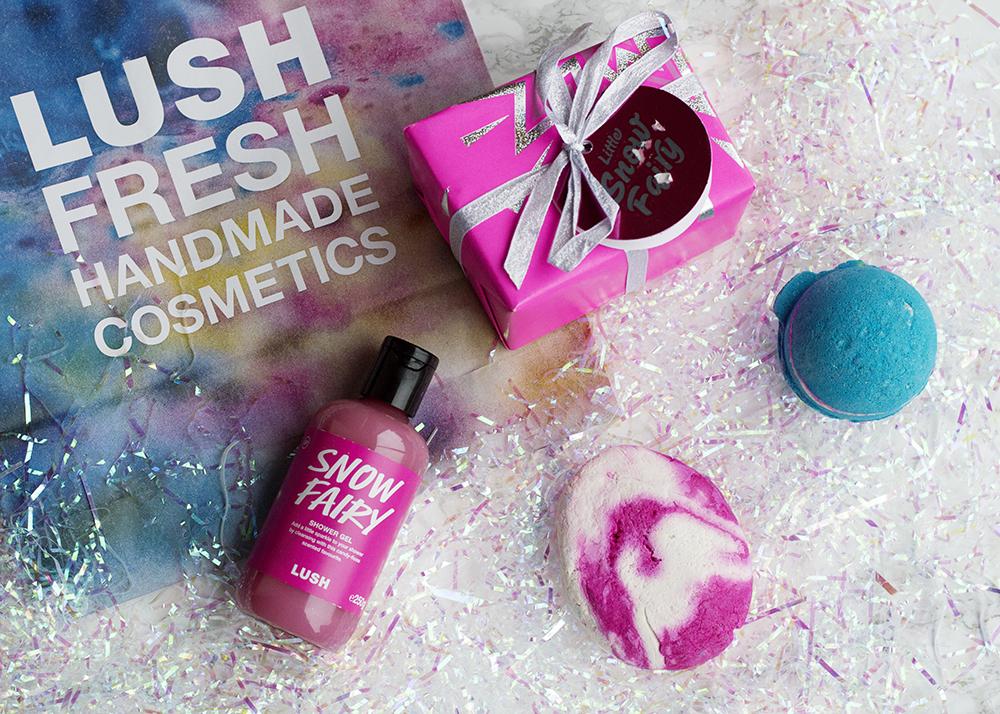 Lush, Snow Fairy, Lush Haul, Comforter, Bath Ballistic, Intergalactic, Geordie Lush
