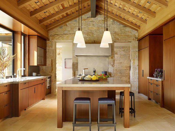 15 Cozinhas Modernas de Fazenda  Design Innova # Armario De Cozinha Estilo Fazenda