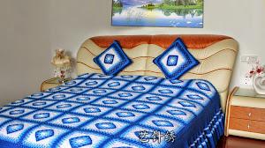 Sobrecama al crochet - ideas para tu hogar
