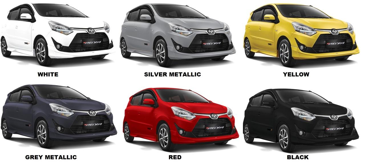 New Agya Trd Silver Grand Avanza Ceper Perbedaan Toyota Tipe E G Dan S Semarang 2018 Harga Kredit