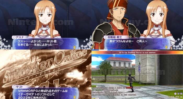 Sword Art Online: Infinity Moment English Patched PPSSPP