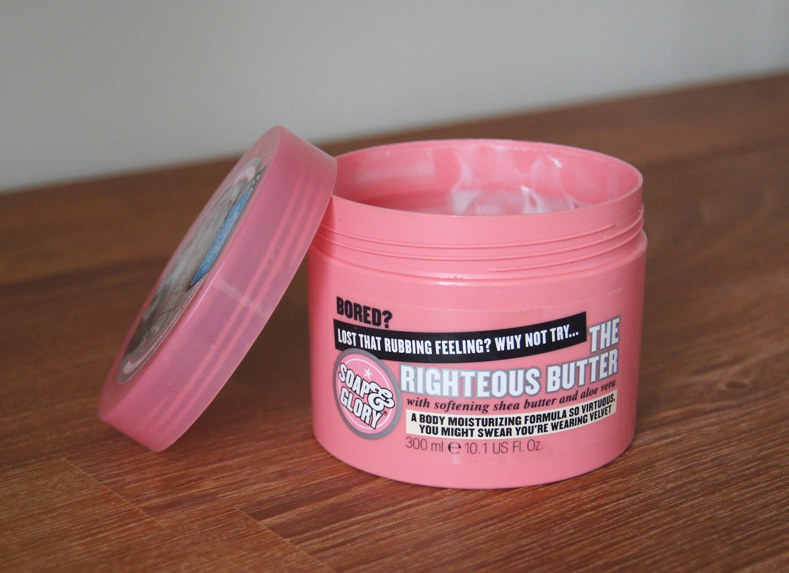 soap and glory the righteous butter body moisturiser empty review