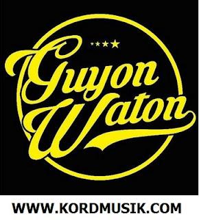 Kunci Gitar Guyon Waton - Lungaku