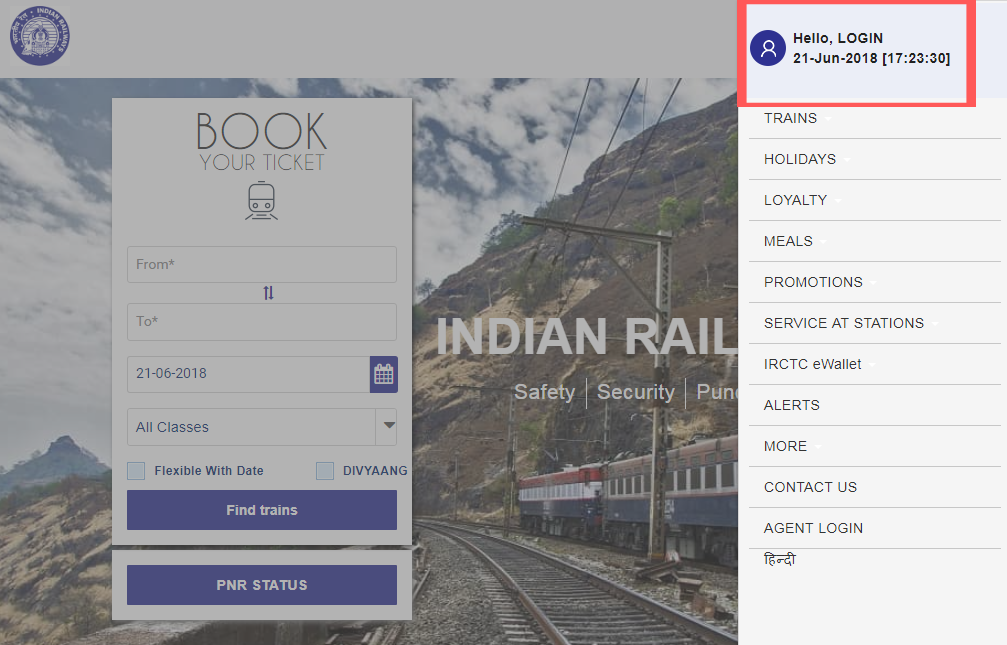 IRCTC Website se E-Ticket Kaise Print Kare