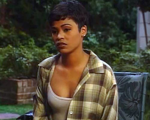 Nia Long Pixie Cut