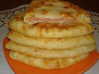 Сырные лепешки за 15 минут.