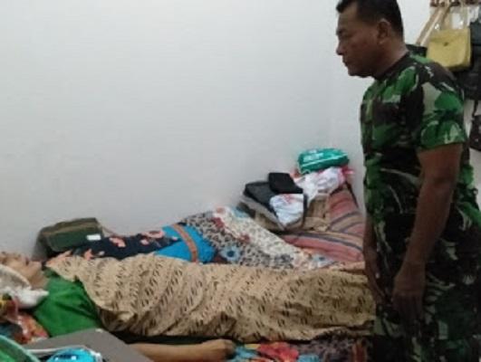Babinsa Koramil Cilacap Temukan Sesosok Mayat Wanita di Kalidonan