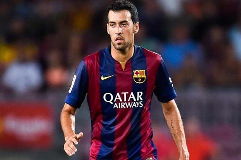 Sergio Busquets trong màu áo Barca