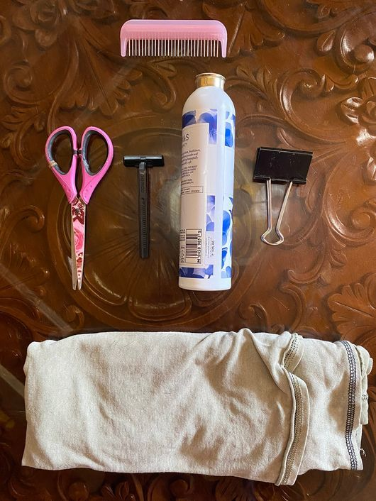Tools and equipment for giving your toddler a haircut