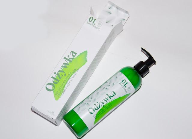 Basil Element. Odżywka wzmacniająca przeciw wypadaniu włosów ELFA