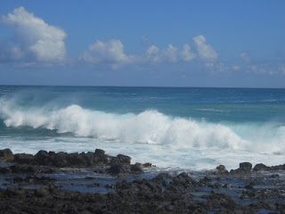 Poipu Beach Kauai Brennecke's wave ocean Hawaii