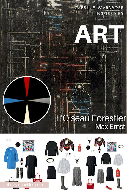 L'Oiseau Forestier by Max Ernst - Starting a Wardrobe with a Tote Bag Travel Capsule