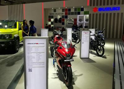 Booth Suzuki 2W di IIMS 2019