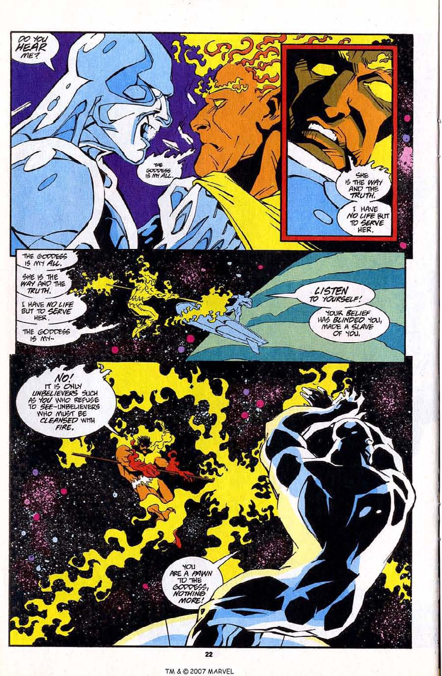 Read online Silver Surfer (1987) comic -  Issue #83 - 24