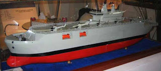 Mockup Helicopter Carrier PT PAL