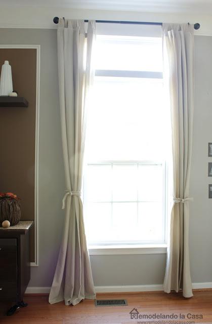 Remodelando La Casa How To Repair A Curtain Rod Anchor