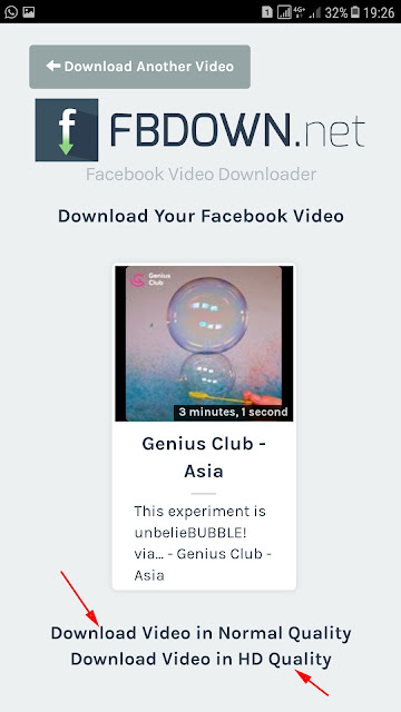 Cara Download Video Facebook Tanpa Aplikasi di Android 4