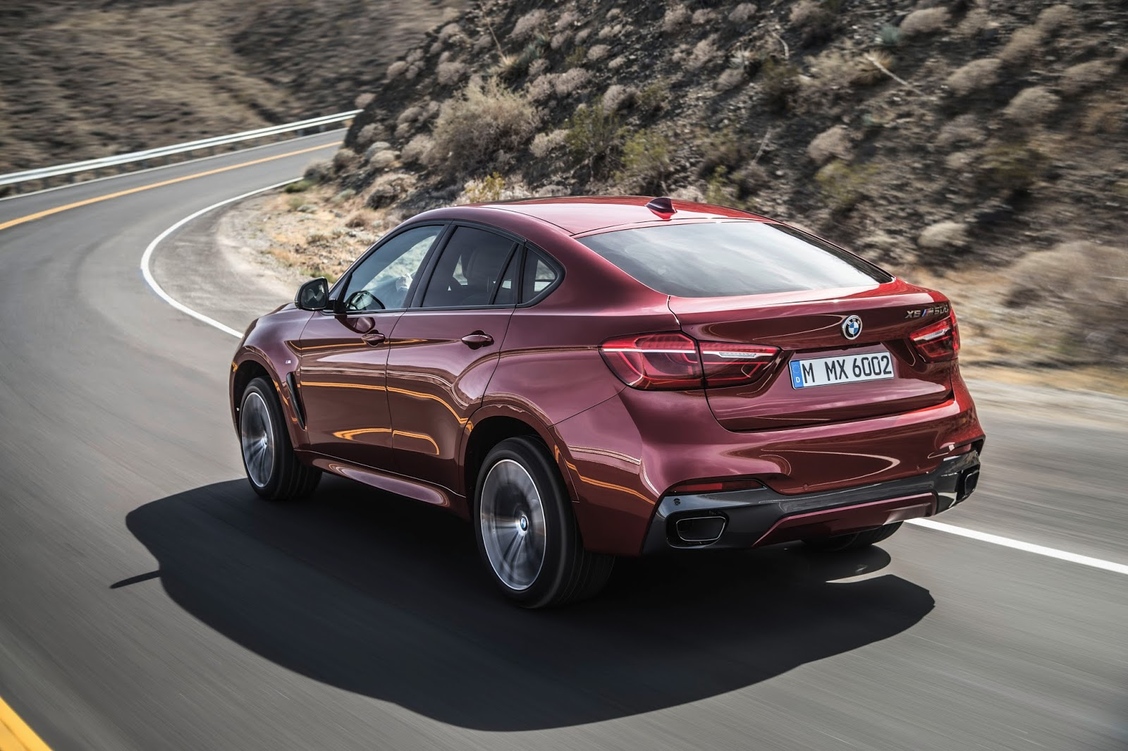 The New BMW X6 M50d