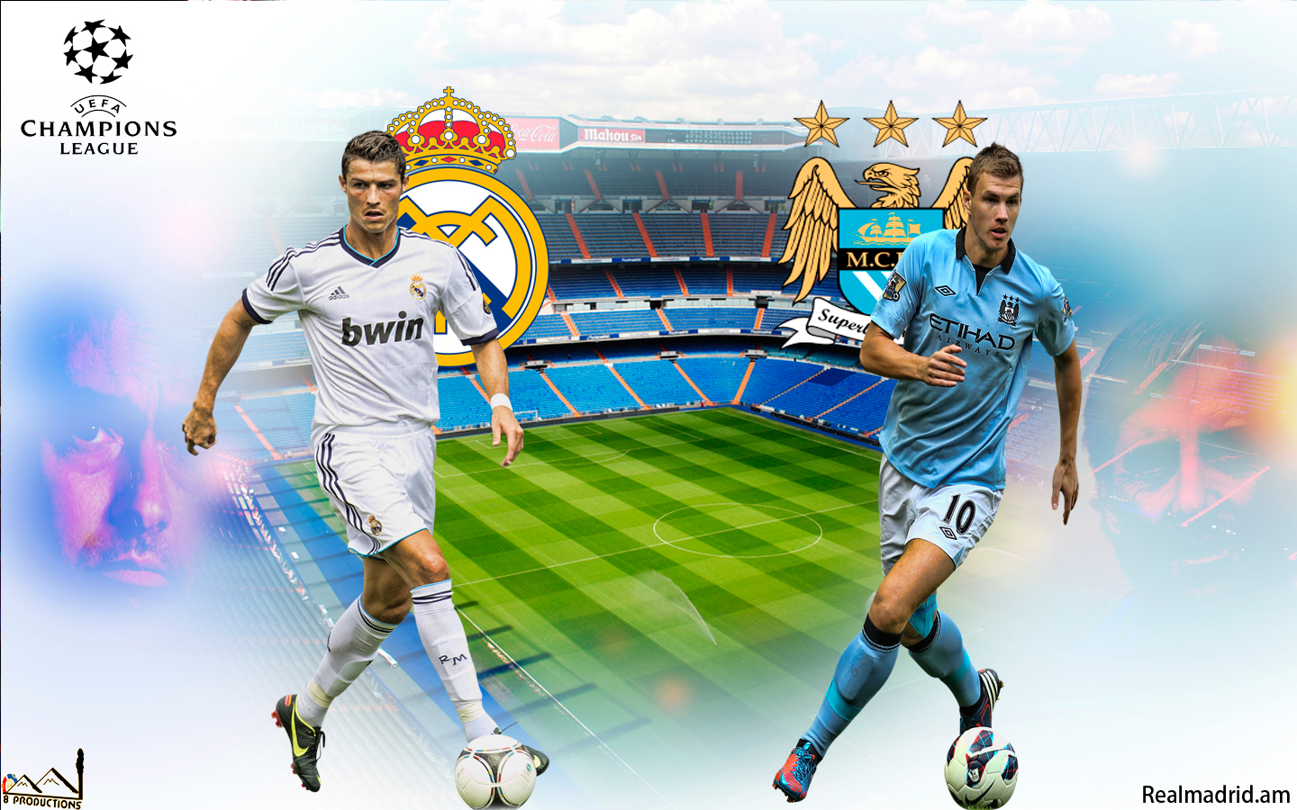 8 Productions Real Madrid Vs Manchester City
