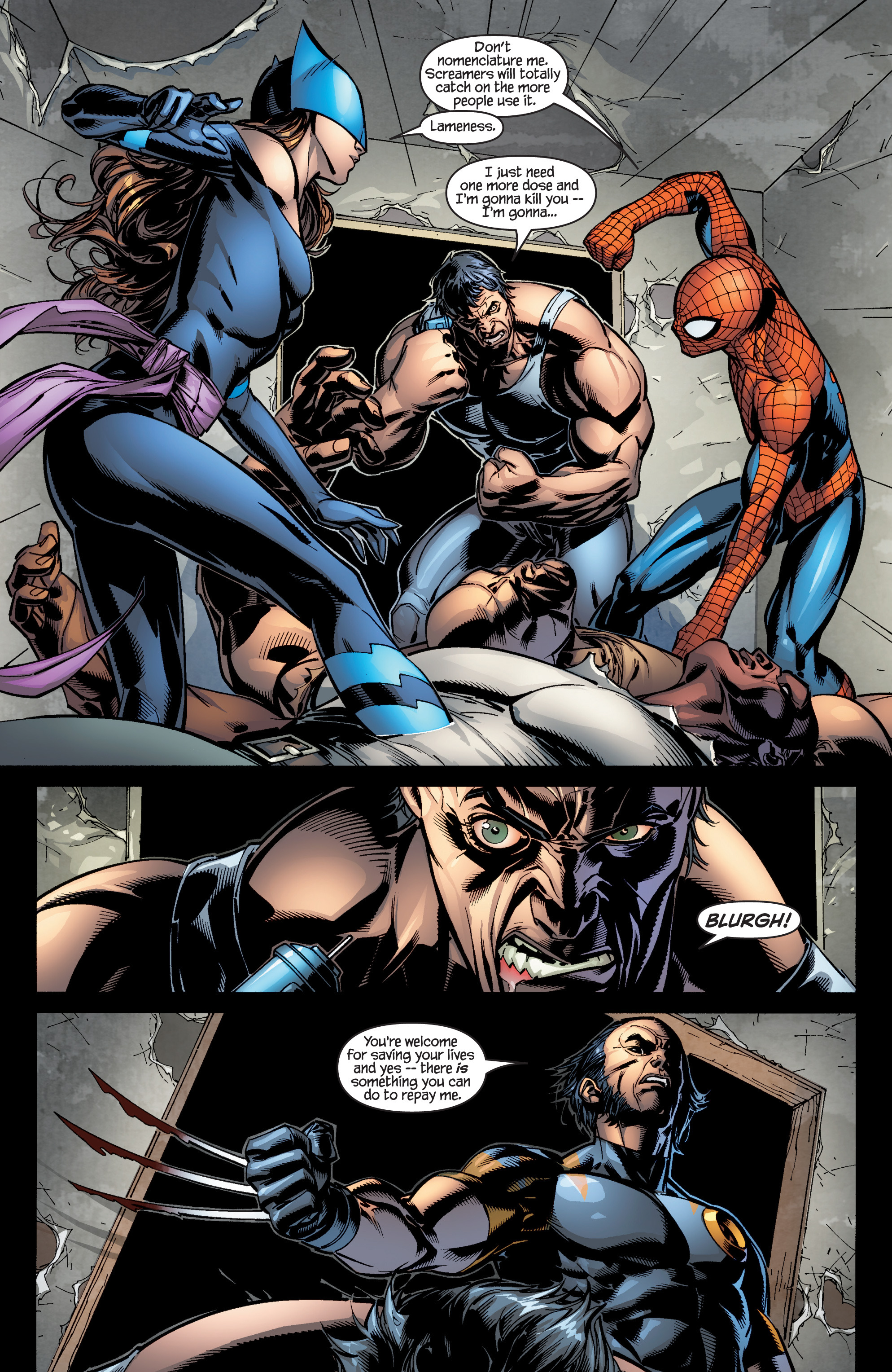 Read online Ultimate X-Men comic -  Issue #96 - 12