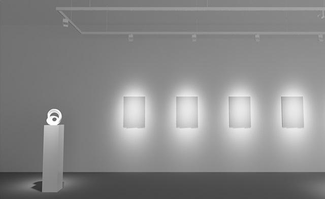 Fari a led faretti accento per quadri mostre esposizioni