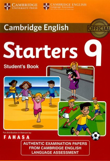 Cambridge tests for starters 9 book pdf scans key audio cd fandeluxe Choice Image