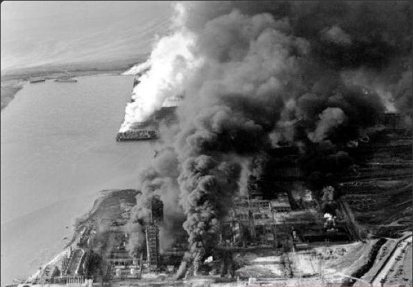 صورة لانفجار تكساس عام ١٩٤٧
