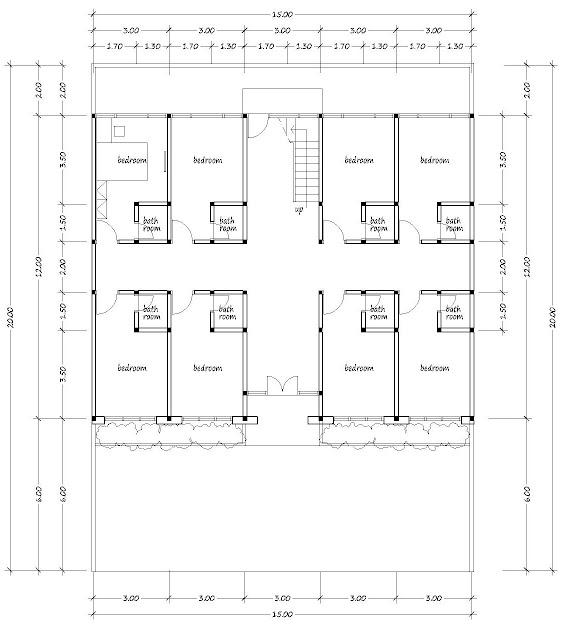 Boarding house plan 03