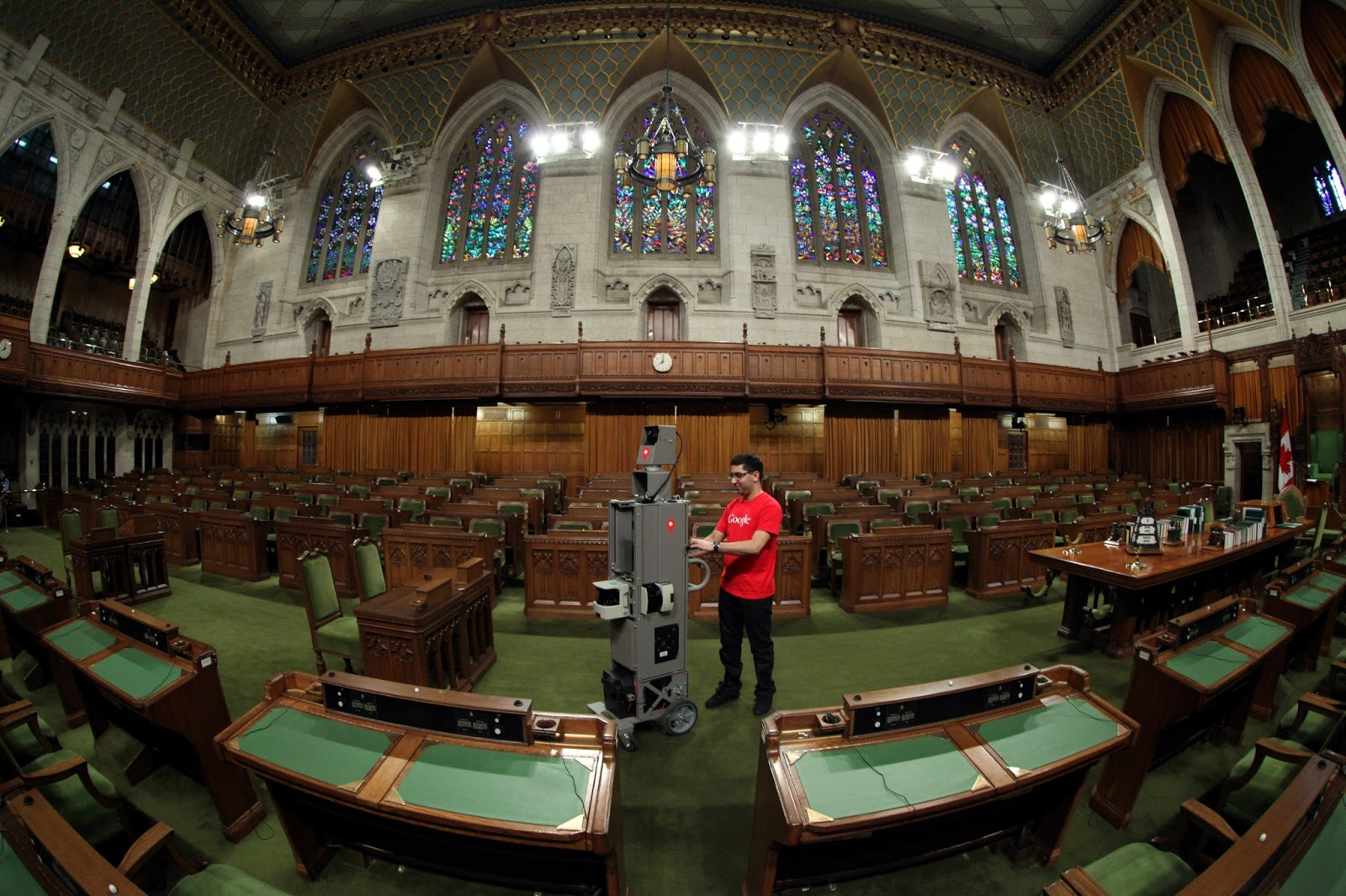 House Of Commons Foyer Canada : Official google canada maps brings street