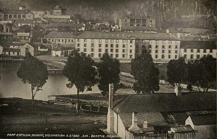 On The Convict Trail: The Hospital, Port Arthur