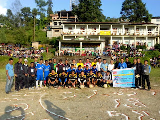 Shaheed Smarak football tournament shelpu