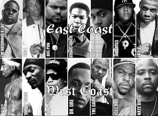 East Coast VS West Coast Hip-Hop