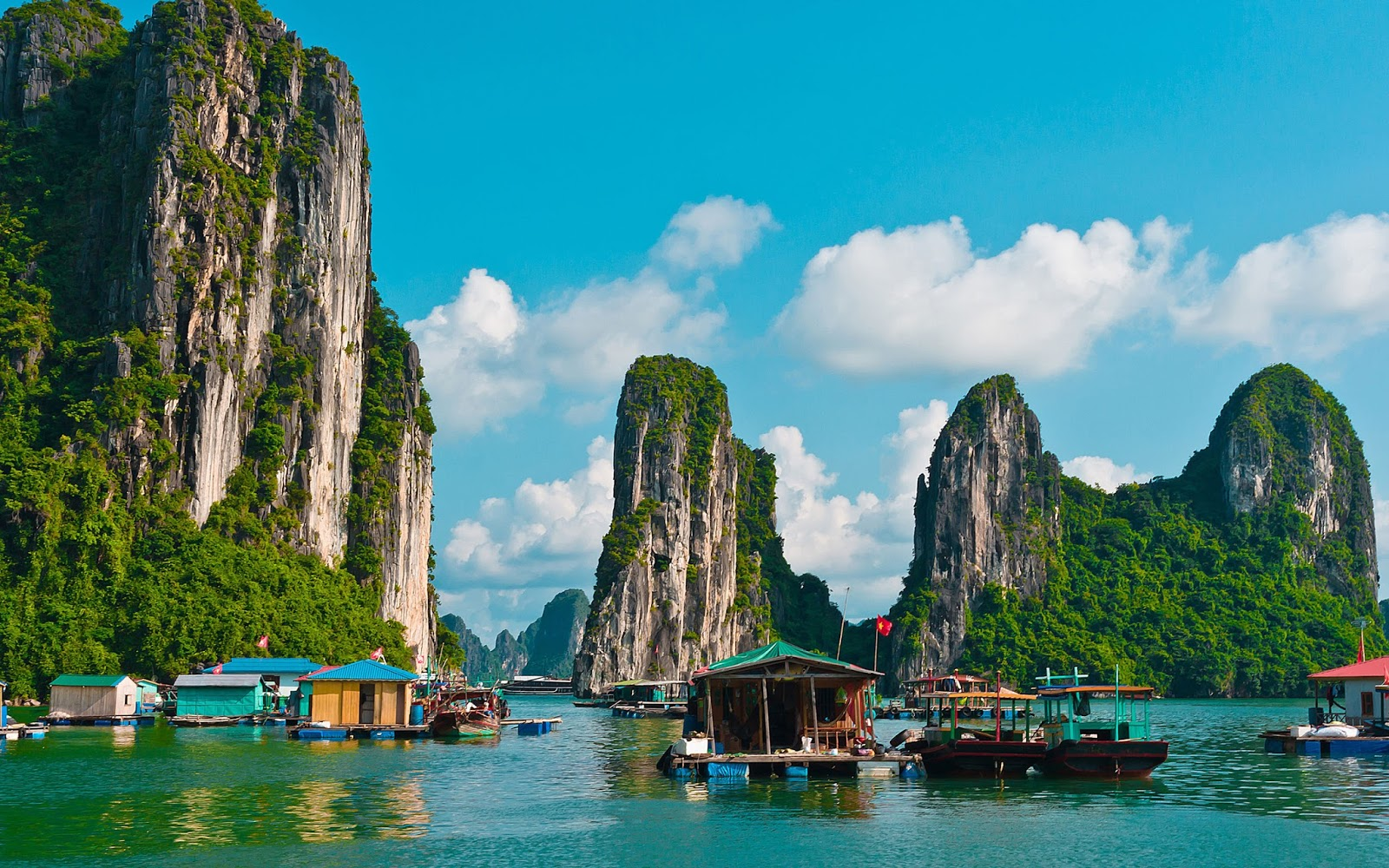 Halong Bay,Vietnam HD Background