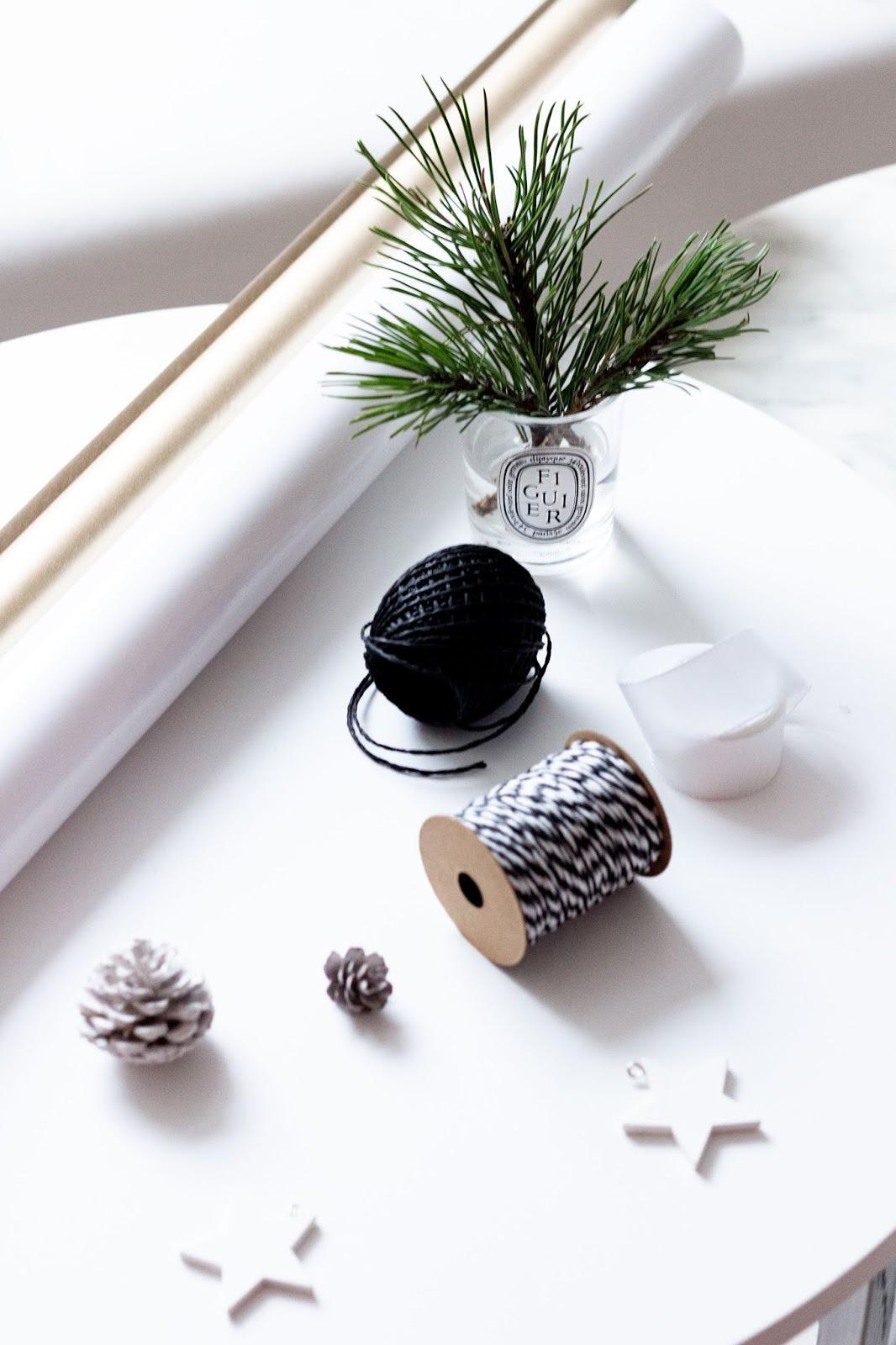 DIY | Geschenke verpacken zu Weihnachten | www.scandiinspiration.com