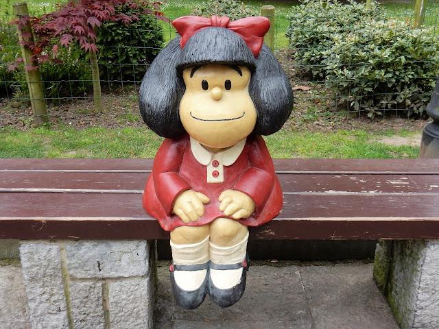 Mafalda en Campo de San Francisco, Oviedo, La Vetusta, España, Elisa N, Blog de Viajes, Lifestyle, Travel