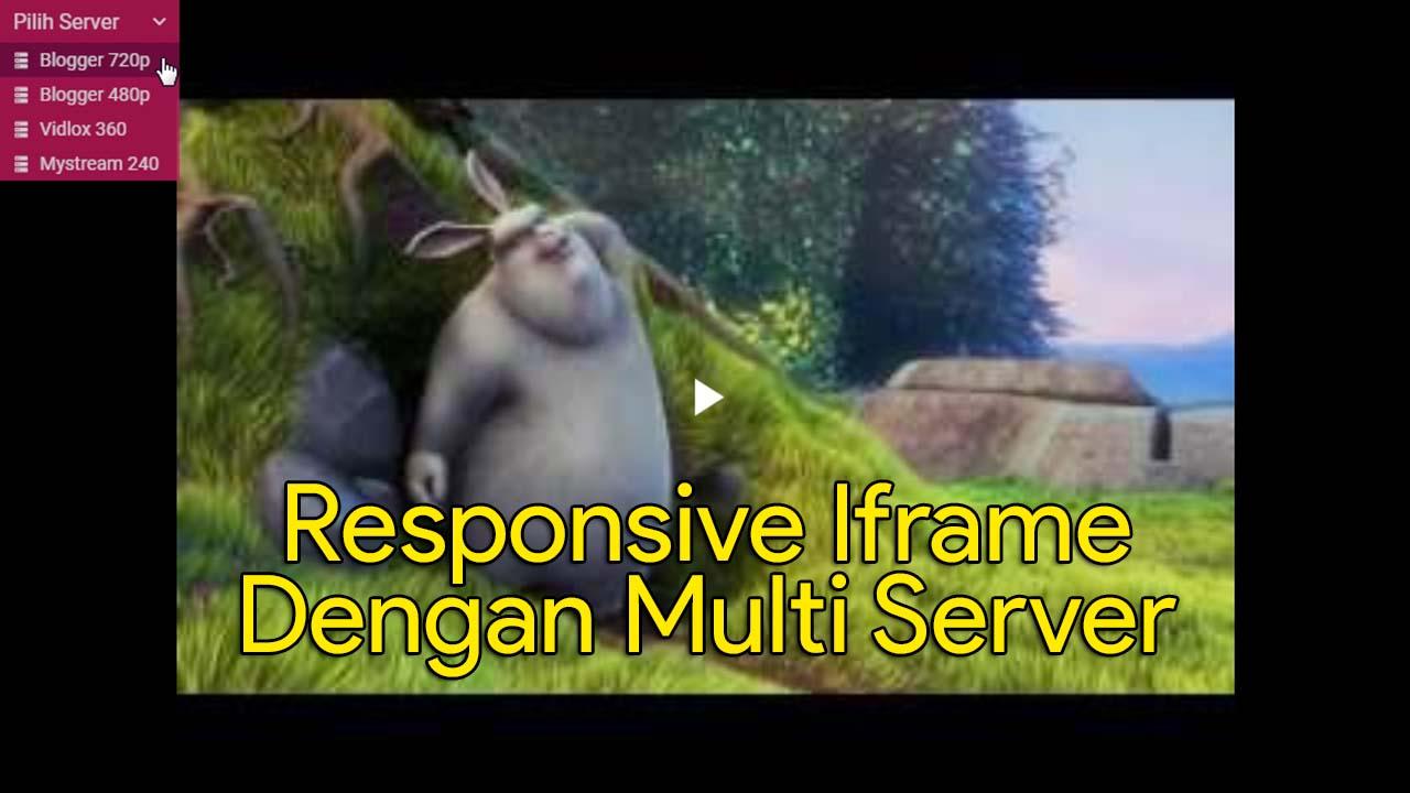 Responsive Iframe Dengan Multi Server