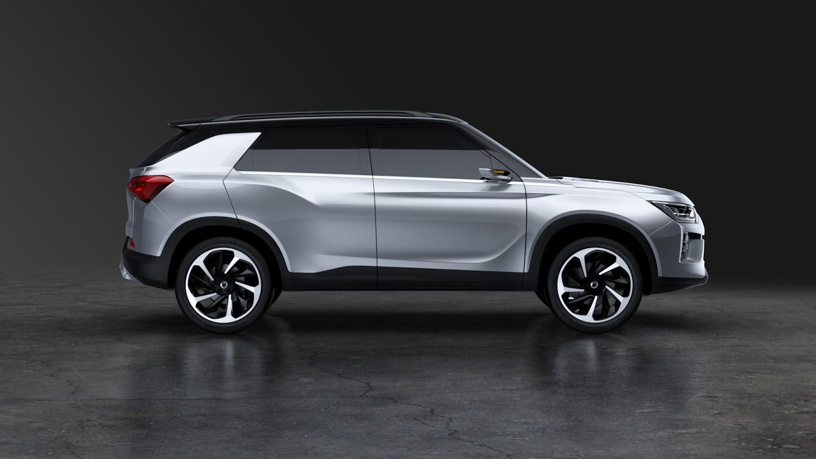 SIV 2%2B5 Η SSANGYONG παρουσιάζει ένα μεσαίο πολυχρηστικό SUV